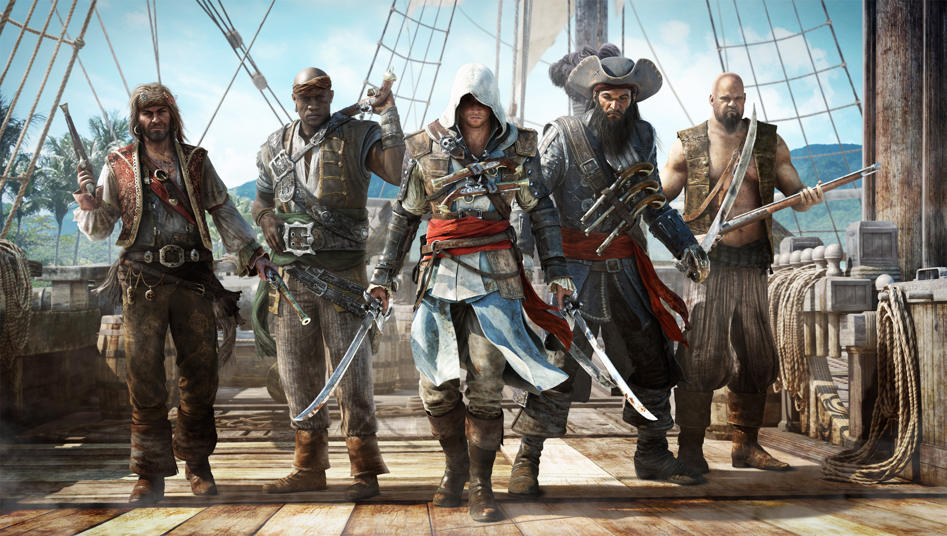 Assassin's Creed IV Black Flag новое видео геймплея - Screenshot 1/1